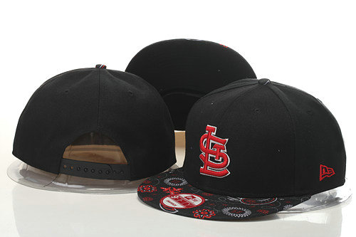 St Louis Cardinals Snapback Black Hat GS 0620